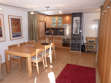 1 bedroom Apartment for rent in Zermatt