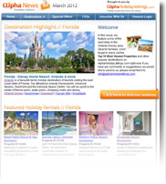 Destination Highlight - Florida - Holiday Newsletter March 2012