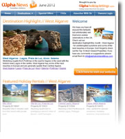 Destination Highlight - West Algarve - Holiday Newsletter no.1 June 2012