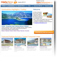 Destination Highlight - Turkey - Holiday Newsletter no.2 June 2012