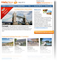 Olympic Special Edition - London Calling - Holiday Newsletter no.2 July 2012