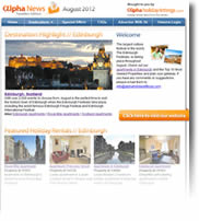Destination Highlight - Edinburgh - Holiday Newsletters no.1 August 2012