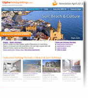 Sun, Beach and Culture - Holidays In Spain, Portugal - Newsletter No.1 April 2013