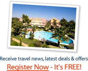 Register to receive Special Offers on Holiday Rentals