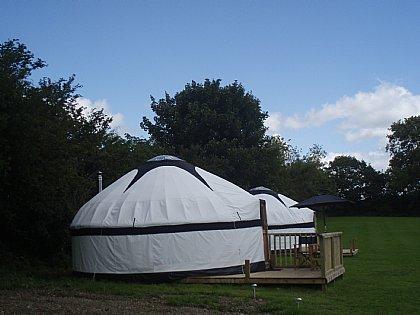 Little Fursdon Luxury Yurts, St  Cleer | Alpha Holiday Lettings