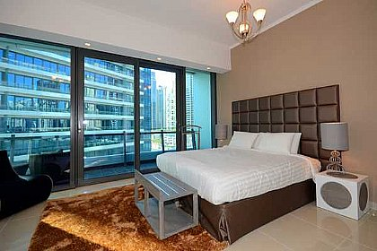 Studio Apartment In Dubai Marina | Alpha Holiday Lettings