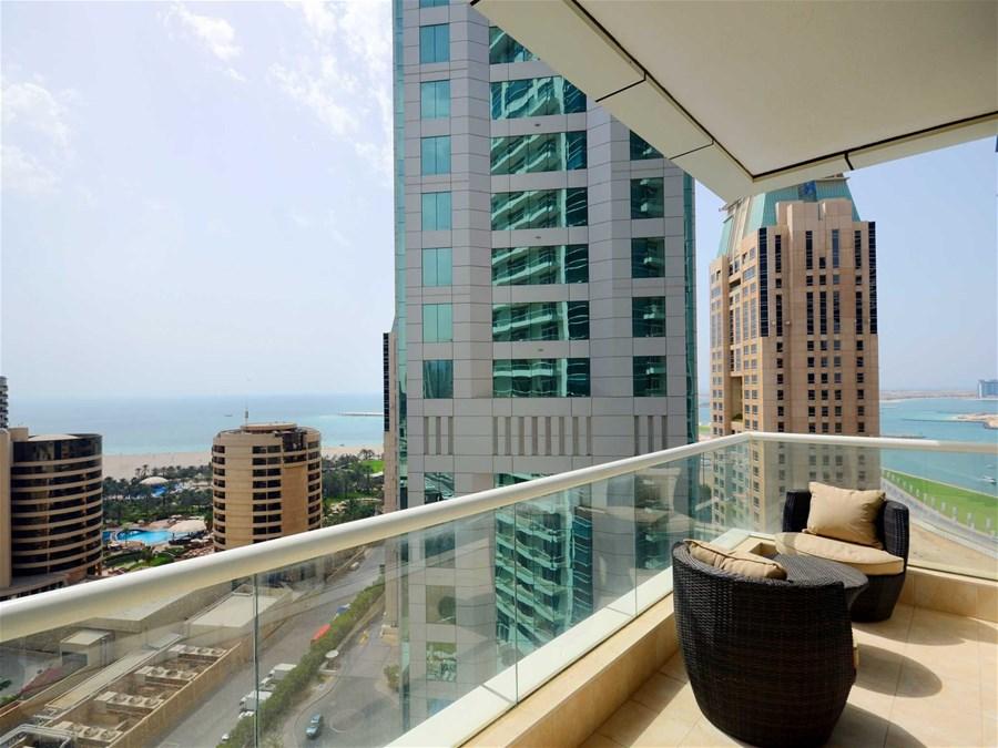 New 1 Bedroom Apartment With Sea Views In Dubai Marina Botanica